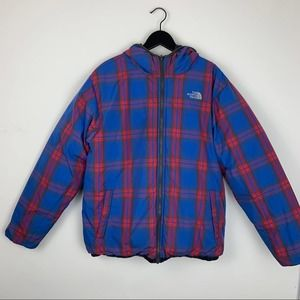 The North Face 550 Plaid Reversible Puffer w/Hood